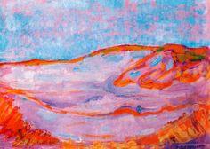 Dune IV - Piet Mondrian - 1910. Gemeentemuseum, the Hague, Netherlands.