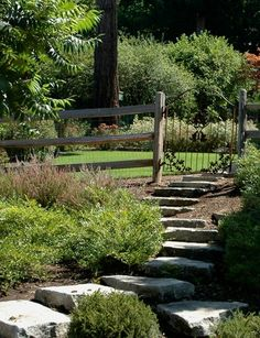 wonderful stone steps