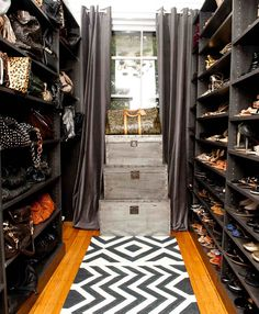 Dream to have a shoe and bag closet!