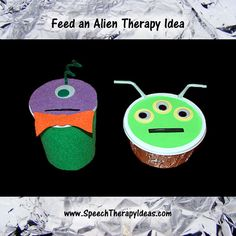 Feed an Alien Speech or Language Therapy Ideas for #SpaceWeek!