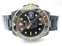 PARNIS 40mm SUBMARINER style sapphire glass black - Automatic - Parnis watch station