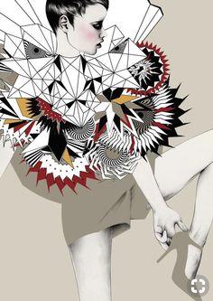 38 Best Illustrrator: Issa Grimm images | Mode kunst