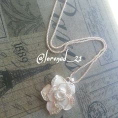 I just discovered this while shopping on Poshmark: Rose Pendant Necklace. Check it out!  Size: OS