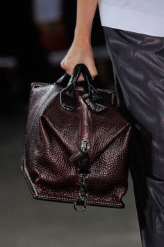 Alexander Wang Spring 2014 runway bags