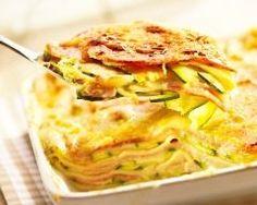 Lasagnes chèvre, courgettes (facile, rapide) - Une recette CuisineAZ : http://www.cuisineaz.com/recettes/46310-impression.aspx