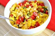 Summer Corn Salad - AMAZING. Even the guys couldn't get enough!