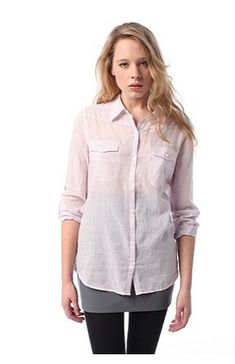 Image result for BDG 'Breezy Button-Down Shirt'