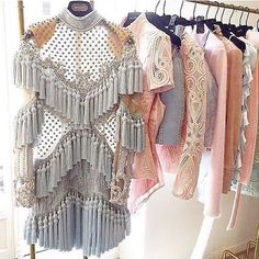 Repost from with . Balmain🗣Heaven On A Hanger✨🙌🏽 Fall 🔥 bombaccessories Spied By 👀 fashionbombdaily fashion style instafashion instastyle balmain thought of u straight away xoxo Fashion Week, Runway Fashion, High Fashion, Fashion Beauty, Fashion Outfits, Womens Fashion, Fashion Trends, Fashion Clothes, Fashion Fashion