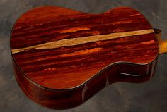 Guitar by Michael Bashkin- Cocobolo back and sides.
