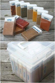 Garšvielas Tic-Tac kastītēs
