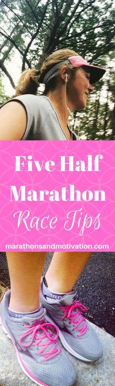 5 Tips for Half Marathon Race Day: Important Reminders for Running a Half Marathon | Marathon | 10 k Road Race | 5 k Road Race