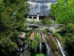 Not a castle, but I think I'll add it to that dream castle tour anyway. Swiss Travel, Saint, Waterfall, Road Trip, To Go, Images, Castle, World, House Styles