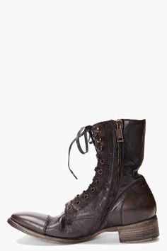 DSQUARED2 Amish Ankle Boots....... I'm WAY too short for these I'd look liken a hobbit in them but I really them.