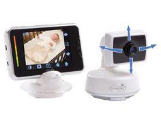 Summer Infant Babytouch color video monitor. Podrás chequear a tu bebé desde cualquier lugar de tu casa.