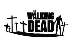 The Walking Dead Zombie Die Cut Decal Vinyl Sticker - Black: --- Color: black--- This decal is cut to be placed on the outside of the surface (glass, etc. NOTE: White Shows up Best on Tinted Windows. Walking Dead Tv Series, The Walking Dead Tv, Silhouette Clip Art, Dead Zombie, Vinyl Decals, Stencils, My Love, Graphics, Road Logo
