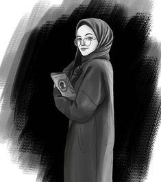 Anime hijab girl Anime muslimah Muslim illustration Indoor girl drawings Miss Turtle - - Hijab Anime, Photo Hijab, Drawing Sketches, Art Drawings, Drawing Portraits, Sketch Art, Drawing Art, Hijab Drawing, Hijab Cartoon