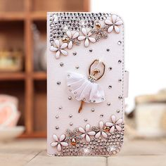 handmade leather rhinestone crystal Dancer holster mobile phone bag case for style iphone 5 5s case cell phone case on Aliexpress.com | Alibaba Group
