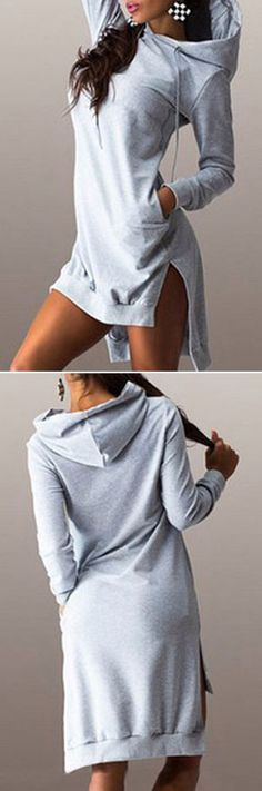 Trendy Sweatshirt And Leggings Outfit Casual Grey Look Fashion, Trendy Fashion, Autumn Fashion, Womens Fashion, Fashion Design, Dress Fashion, Fashion Black, Fashion Clothes, Fashion Shoes