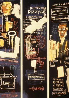 Jean-Michel Basquiat, Horn Players, 1983