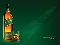 Anúncio Johnnie Walker green label