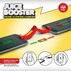 Juice Booster - Phone to Phone Charger