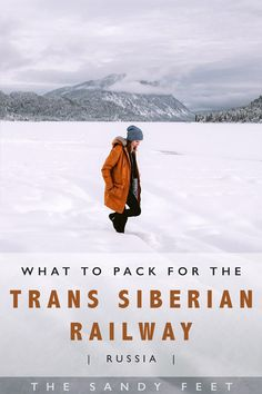 What To Pack For The Trans Siberian Railway (Especially In Winter) - The Sandy Feet Packing List For Travel, Europe Travel Tips, Asia Travel, Travel Guides, Travel Destinations, Packing Tips, Europe Packing, Traveling Europe, Backpacking Europe