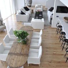 #decoration #sejour #bois #blanc #nicolle