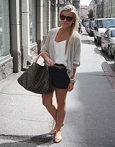 Linda J from Sweden! PS I Love Fashion blogger...I adore this casual elegance