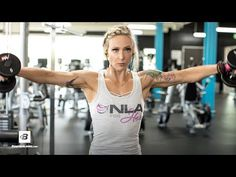Sculpt every angle and build round, full muscles with IFBB Bikini pro Amy Updike's total shoulder workout.