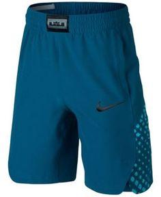 Nike LeBron James Flex Shorts, Big Boys (8-20) - Blue XL