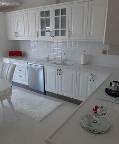 Kitchen Room Design, Modern Kitchen Design, Home Decor Kitchen, Kitchen Furniture, Home Design Decor, Interior Design Tips, House Design, New Kitchen Cabinets, Cuisines Design