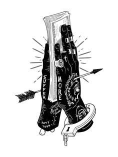 Illustration best walking shoes for 60 year old woman - Woman Shoes Kritzelei Tattoo, Tattoo Drawings, Art Drawings, Money Tattoo, Tattoo Sketches, Arte Dope, Dope Art, Kunst Tattoos, Body Art Tattoos
