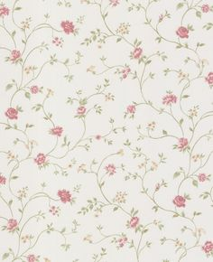 vintage rose englische landhaus satintapeten kleine rankende rosen art nr 68348 tapete. Black Bedroom Furniture Sets. Home Design Ideas