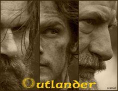 Highlanders. Murtagh, Jamie and Dougal
