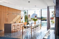 Bjarke Ingels Transformed A Ferryboat Into A Light and Creative Family Home - The Nordroom Big Design, House Design, Hotels In Georgia, Church Conversions, Warm Industrial, Ferry Boat, Kitchen Interior, Kitchen Decor, Kitchen Ideas