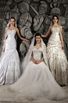 Hassan Mazeh Bridal 2013 collection