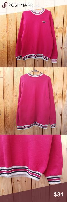 Vintage Wilson Red Sweatshirt Excellent vintage condition  Feel free to ask me any additional questions! No trades, or modeling. Happy Poshing! Wilson Sweaters