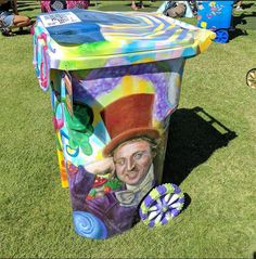 Global Inheritance continues with their annual TRASHed At Coachella 2017 selecting 45 artists to decorated 65 gallon recycling bins for the music festival.