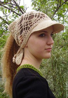 Crochet Headband Pattern, Crochet Cap, Crochet Diagram, Crochet Beanie, Love Crochet, Crochet Scarves, Crochet Motif, Crochet Clothes, Crochet Stitches