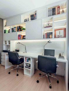 Antes e depois: home office
