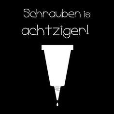 Schrauben ist achtziger! Tipps und Tricks zum richtigen Kleben  KINNERTIED.de