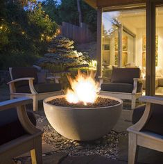 Fire Pits - Great for Fall and Winter - modern - firepits - atlanta - authenTEAK Outdoor Living