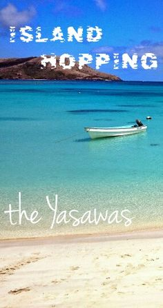 Island hopping the Yasawa Islands, Fiji - possibly one of the most beautiful and easiest independent trips you can take!