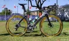 Sagan's Steed : like Sagan himself, his bike says it all. #cycling #bike #ride #exercise #explore