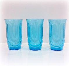 3 is perfect to start an eclectic collection of glassware.