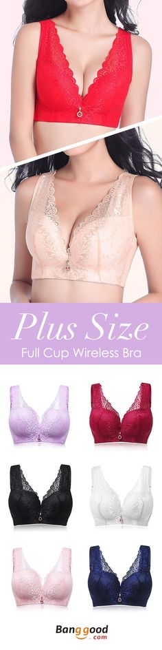 US$8.89 + Free shipping. Lace Embroidery,Sexy/Push Up/Deep V,No Rims,Full Cup,Fixed Straps, Adjusted Straps,4×5 Hook-and-eye/4×4 Hook-and-eye(B Cup).Colors: Black, Blue, Nude, Red, Wine, Pink, Light Purple.Size: C-E Cup, 34/75-50/115 Underbust.Buy now!
