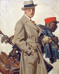 inspijuice: J.C Leyendecker More about J.C Leyendecker. Vintage Men, Art Vintage, Mode Vintage, Vintage Paintings, Vintage Children, Art And Illustration, American Illustration, Art Quotidien, Jc Leyendecker