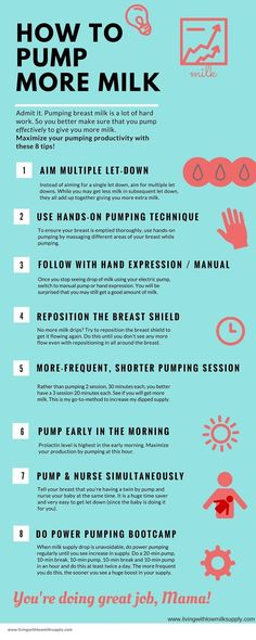 Pumping mamas, maximize your pumping productivity with these 8 pumping tips. If you are looking for ways to pump more breast milk, this is the way to go. Click through to read the full article (there's even a FREE pumping lesson + worksheet to help you pr