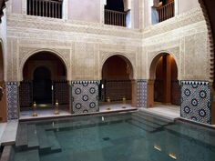 Finca en Hammam Al Andalus Málaga Malaga, Style At Home, Indoor Outdoor, Outdoor Decor, Google Images, Mansions, House Styles, Home Decor, Pools