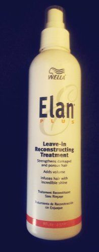 Wella Elan Plus Leave-in Reconstructing Treatment 8 Oz. -- Be sure to check out this awesome product.
